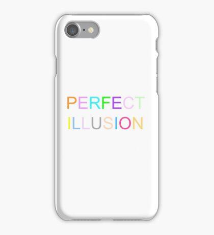 Lady gaga perfect illusion iPhone Case/Skin