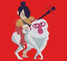 Kubo and Monkey Kids Tee