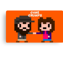 8-bit Game Grumps Fistbump Canvas Print