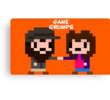 8-bit Game Grumps Fistbump Canvas Print