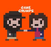 8-bit Game Grumps Fistbump by TechnoKhajiit