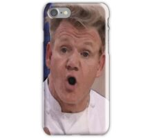 Chef Gordon Ramsay Requests That You Please Wake Up iPhone Case/Skin