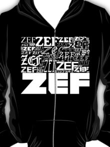 ZEFZEFZEF BLACK T-Shirt