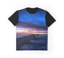 Sunset above the clouds Graphic T-Shirt