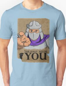 The Foot Needs You Unisex T-Shirt