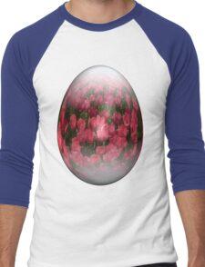 easter egg tulips Men's Baseball ¾ T-Shirt