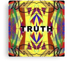 Truth Canvas Print