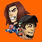 Game Grumps Heads by TechnoKhajiit