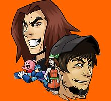 Game Grumps Heads by TechnoKhajiit