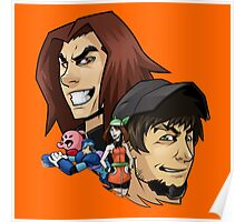Game Grumps Heads Poster
