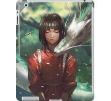 Dragon Haku and Chihiro  iPad Case/Skin