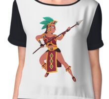 Warrior Princess Chiffon Top