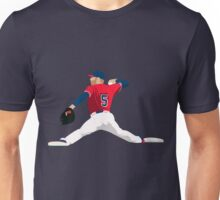 Freddie Freeman Fielding Art Unisex T-Shirt