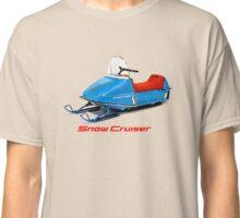 Snow Cruiser Vintage Snowmobiles Classic T-Shirt