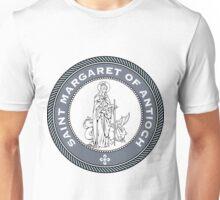 ST MARGARET OF ANTIOCH MEDALLION Unisex T-Shirt