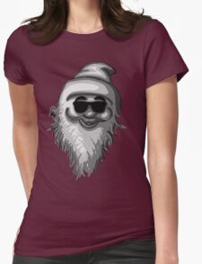 Funky Santa Womens Fitted T-Shirt