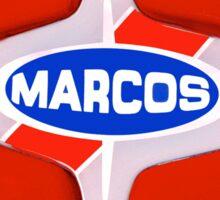 Marcos Vintage Cars Sticker