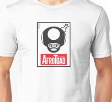AfroToad RED (on white) Unisex T-Shirt