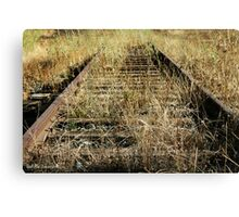 Herald Railroad Tracks Canvas Print