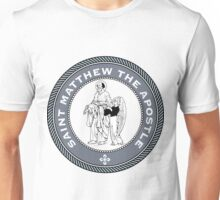 ST MATHEW THE APOSTLE MEDALLION Unisex T-Shirt