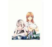 Alice and Erina  Art Print