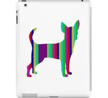 Stripy Chihuahua Range iPad Case/Skin