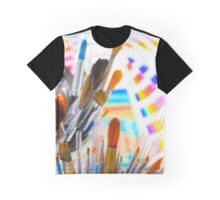 Paints and brushes Graphic T-Shirt