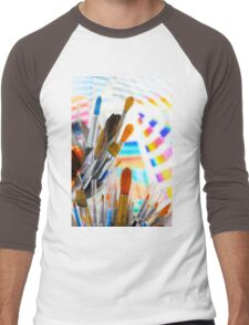 Paints and brushes Men's Baseball ¾ T-Shirt