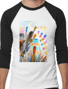 Paints and brushes Men's Baseball ¾ T-Shirt