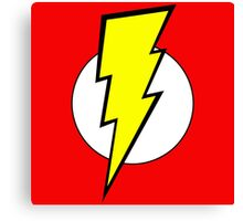 Pop Culture geek stuff lightning bolt colorful design Canvas Print