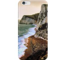 At the cliff edge iPhone Case/Skin