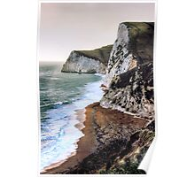 At the cliff edge Poster