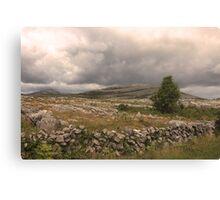 The wild Burren National Park Canvas Print