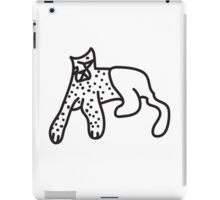 Zef Cheetah iPad Case/Skin