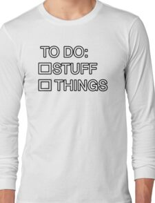 Sheriff's To Do List T-Shirt