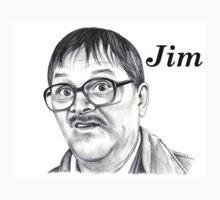 Mark Heap plays Jim  One Piece - Short Sleeve