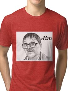 Mark Heap plays Jim  Tri-blend T-Shirt