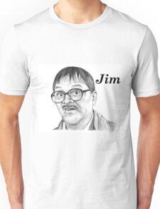 Mark Heap plays Jim  Unisex T-Shirt