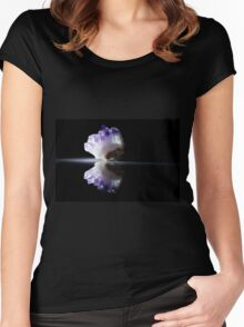 Amethyst Crystal  Women's Fitted Scoop T-Shirt
