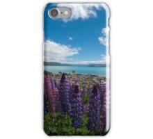 Lupines at Lake Tekapo iPhone Case/Skin