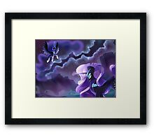 The Power of Darkness Framed Print