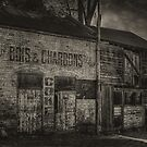 1096 Old Abbotsford Building by DavidsArt