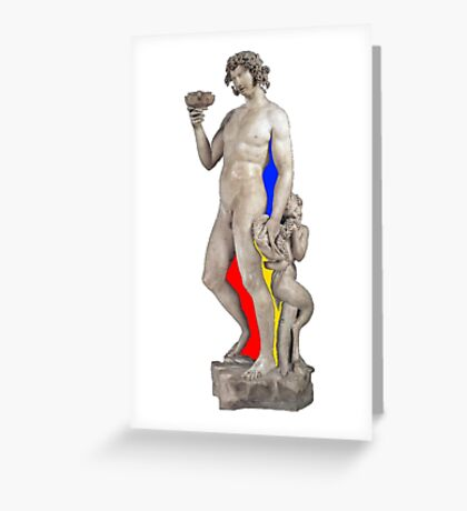 Bacchus Primary Greeting Card