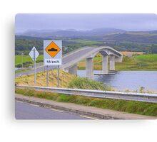 Harry Blaney Bridge...................................Ireland Canvas Print
