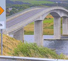 Harry Blaney Bridge...................................Ireland Sticker