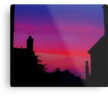 Red Sky - Unique Photography Metal Print