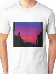 Red Sky - Unique Photography Unisex T-Shirt