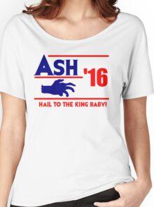 Ash-Evil Hand 2016! Evil Dead Design  Women's Relaxed Fit T-Shirt