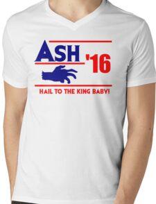 Ash-Evil Hand 2016! Evil Dead Design  Mens V-Neck T-Shirt