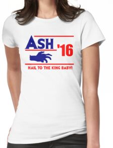 Ash-Evil Hand 2016! Evil Dead Design  Womens Fitted T-Shirt
